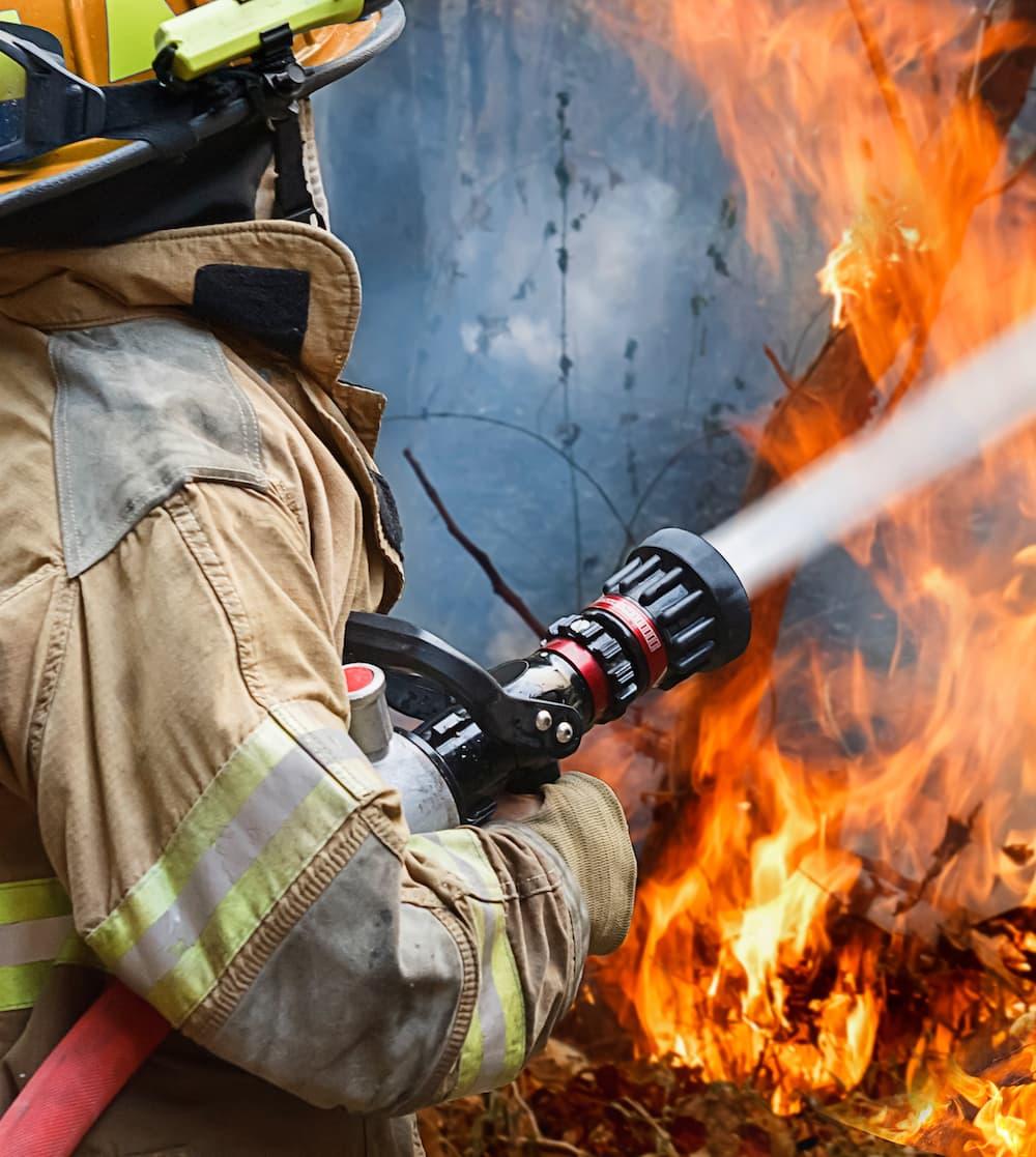 Nettoyage apres incendie
